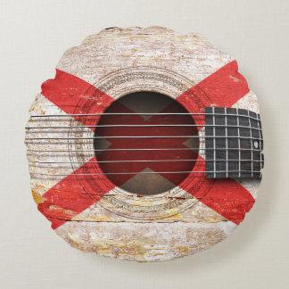 Bandera de Irlanda del Norte en la guitarra