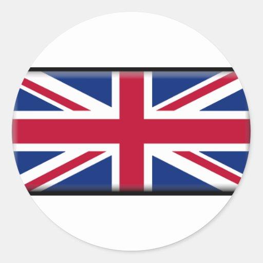 Bandera de Irlanda del Norte Pegatina Redonda