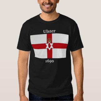 Bandera de Irlanda del Norte, Ulster, 1690 Playeras
