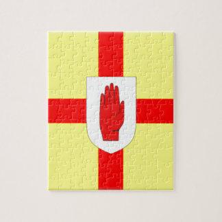 Bandera de Irlanda del Norte (Ulster) Puzzles Con Fotos