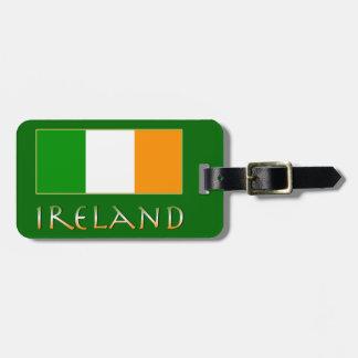 Bandera de Irlanda Etiquetas Maleta