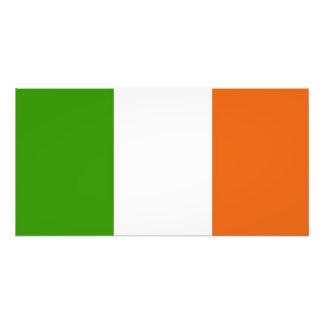Bandera de Irlanda Fotografía