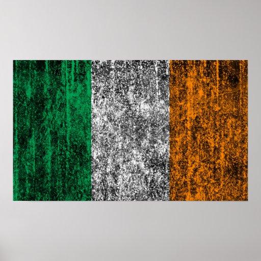 bandera de Irlanda Impresiones