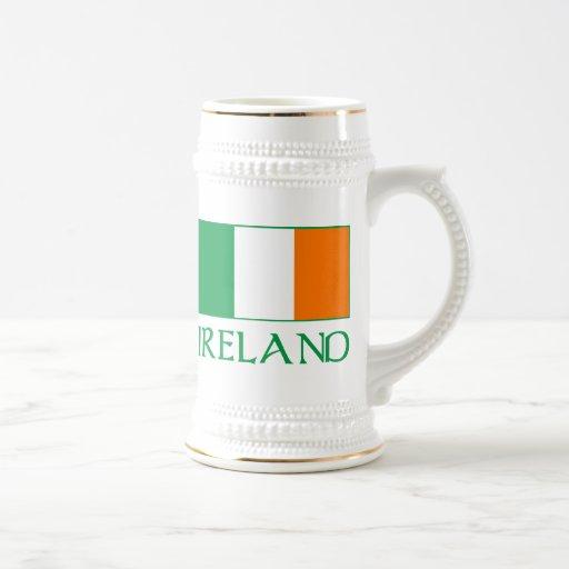 Bandera de Irlanda Jarra De Cerveza