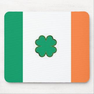 Bandera de Irlanda para las fans irlandesas Alfombrilla De Raton