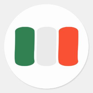 Bandera de Irlanda Pegatina Redonda
