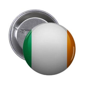 Bandera de Irlanda Pin Redondo De 2 Pulgadas