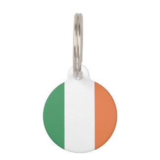Bandera de Irlanda Placas De Mascota