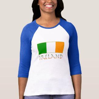 Bandera de Irlanda Playeras