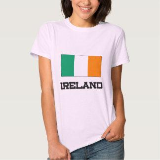 Bandera de Irlanda Poleras