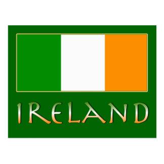Bandera de Irlanda Postales