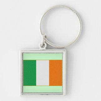 Bandera de Irlanda - República de Irlanda tricolor Llaveros Personalizados