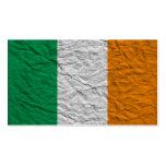 bandera de Irlanda Tarjeta De Visita