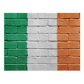 Bandera de Irlanda Tarjeta Postal