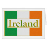 Bandera de Irlanda Tarjetas