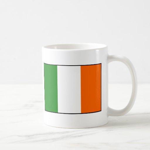 Bandera de Irlanda Taza