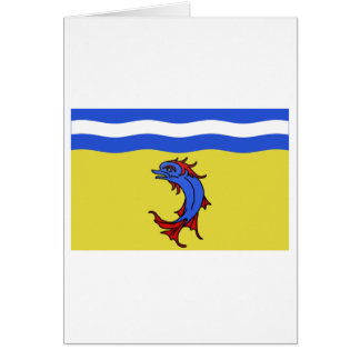 Bandera de Isère Tarjetas