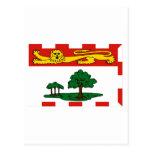 Bandera de Isla del Principe Eduardo, Canadá Tarjeta Postal