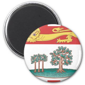 Bandera de Isla del Principe Eduardo Imán