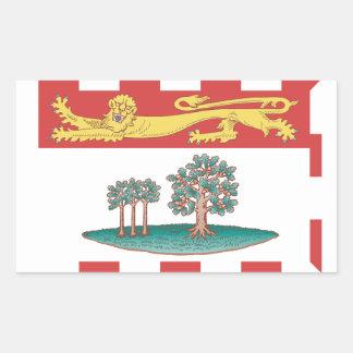 Bandera de Isla del Principe Eduardo Rectangular Altavoces