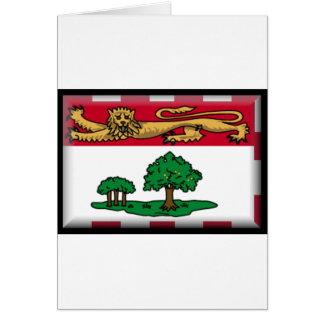 Bandera de Isla del Principe Eduardo Felicitación