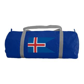 Bandera de Islandia Bolsa De Deporte