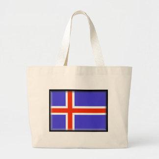 Bandera de Islandia Bolsa De Mano