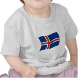 Bandera de Islandia Camiseta