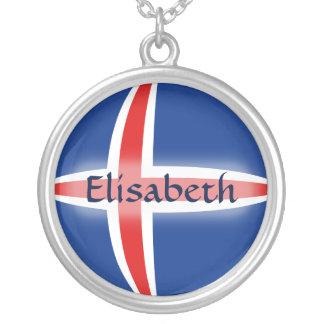 Bandera de Islandia + Collar conocido
