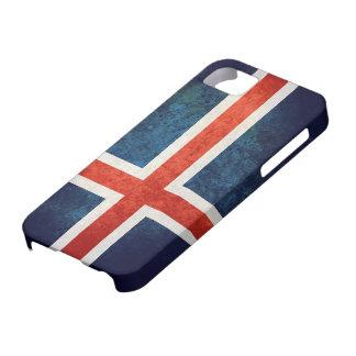 Bandera de Islandia iPhone 5 Case-Mate Cárcasas