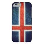 Bandera de Islandia Funda De iPhone 6 Slim
