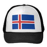 Bandera de Islandia Gorras
