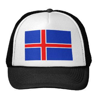 Bandera de Islandia Gorro