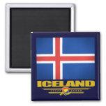 Bandera de Islandia Iman De Nevera