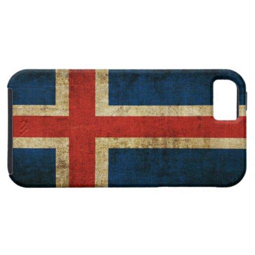 Bandera de Islandia iPhone 5 Funda