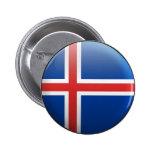 Bandera de Islandia Pin
