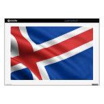 Bandera de Islandia Calcomanías Para 43,2cm Portátiles