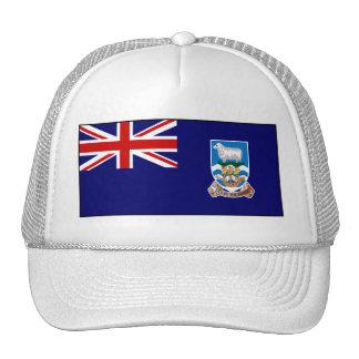 Bandera de Islas Malvinas Gorros Bordados