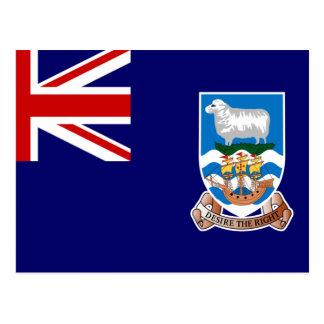 Bandera de Islas Malvinas (Malvinas) FK Postales