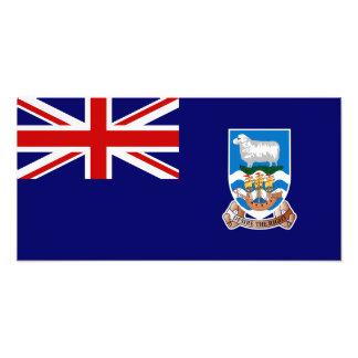Bandera de Islas Malvinas Fotografía