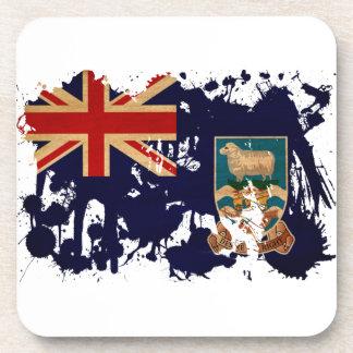 Bandera de Islas Malvinas Posavasos De Bebidas