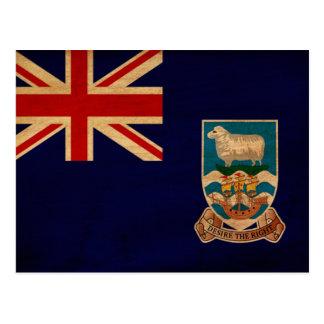 Bandera de Islas Malvinas Postales