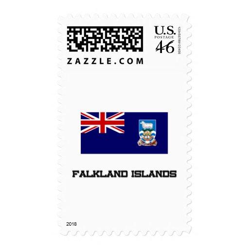 Bandera de Islas Malvinas Franqueo