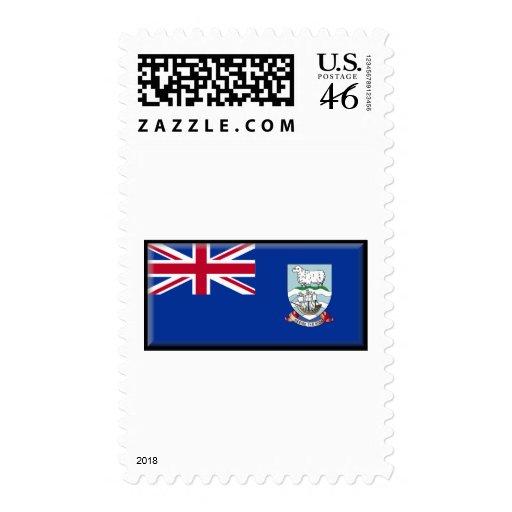 Bandera de Islas Malvinas Sello