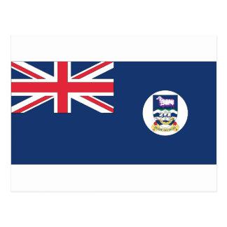 Bandera de Islas Malvinas Tarjetas Postales