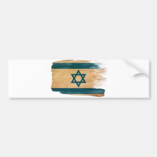Bandera de Israel Pegatina De Parachoque