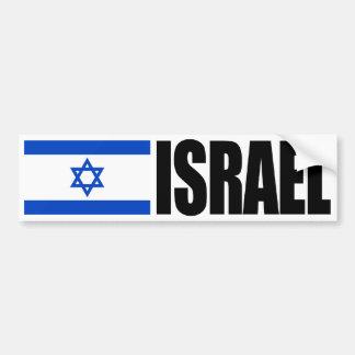 Bandera de Israel Etiqueta De Parachoque