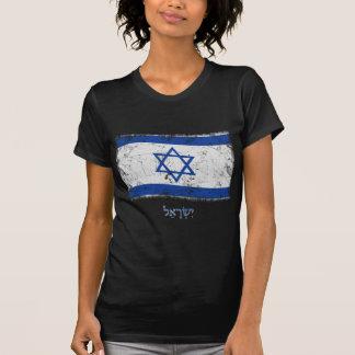 Bandera de Israel del Grunge Camisetas