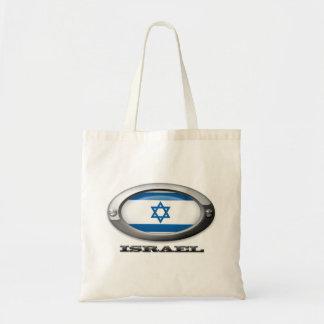 Bandera de Israel en el marco de acero Bolsa Tela Barata