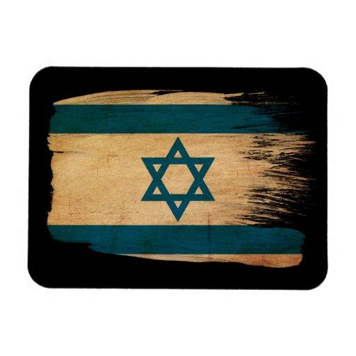 Bandera de Israel Imán Foto Rectangular